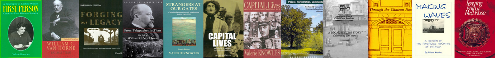 Valerie Knowles' Books